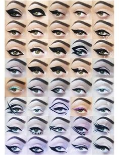 eye liner looks, virtual makeovers and more