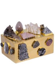 KELLY WEARSTLER | BAUBLE BOX. Handcrafted in Los Angeles from burnished bronze and hand picked stones and minerals
