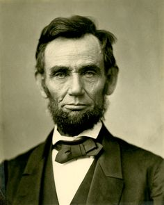 "Photo: Abraham Lincoln. Credit: Alexander Gardner; Wikimedia Commons. Read more on the GenealogyBank blog: ""Quotes from the Civil War: A Fun Quiz"" https://blog.genealogybank.com/quotes-from-the-civil-war-a-fun-quiz.html"