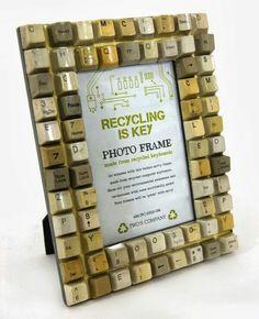 #Recycling is key - key recycling