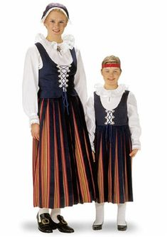 Folk Costume, Costumes, Finland, Embroidery, Clothes, Vintage, Dresses, Fashion, Outfits