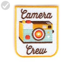 Patch - Camera Crew - Fun stuff and gift ideas (*Amazon Partner-Link)