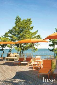 Orange Patio Furniture