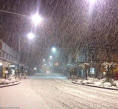Lithgow NSW snow