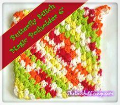 Butterfly Stitch Magic Potholder « The Yarn Box