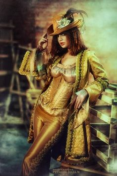 Golden Steampunk