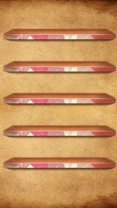 Pink And Brown Retro Shelves iPhone 5 Wallpaper