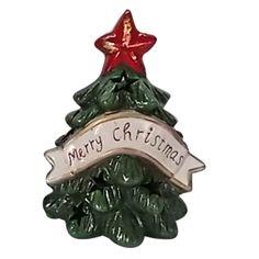 ΚΗΡΟΠΗΓΕΙΟ ΚΕΡΑΜΙΚΟ ΧΡΙΣΤΟΥΤΙΚΟ ΔΕΝΤΡΟ    17x13x12cm Merry Christmas, Xmas, Christmas Ornaments, Holiday Decor, Beauty, Style, Merry Little Christmas, Swag, Christmas