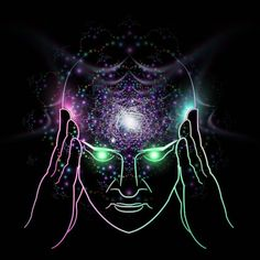 #new #workinprogress #telepathy #psychedelic #psytrance #lsd #consciousness #reiki #digital #illustration #samuelfarrand