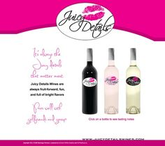 Juicy Details Wines - Home - Launched Late 2011