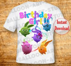 Digital image- Sunny Bunnies Iron On Transfer Sunny Bunnies Birthday Sunny Bunnies Transfer Birthday Sunny Bunnies Shirt Iron On Transfer Sunny Bunnies DIY Bunny Birthday, Ball Birthday, Rainbow Birthday, Birthday Ideas, Birthday Cake, Birthday Parties, Iron On Transfer, Transfer Paper, Mickey Mouse Clubhouse Invitations
