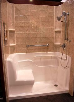 Handicap Accessibility Convert A Bathtub To Walk-in Shower - Easy ...