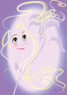 Rapunzel - Artwork by AmadeuxWay Oh my. Rapunzel Flynn, Disney Princess Rapunzel, Disney Tangled, Disney Girls, Disney Love, Disney Magic, Disney Princesses, Sailor Princess, Tangled 2010