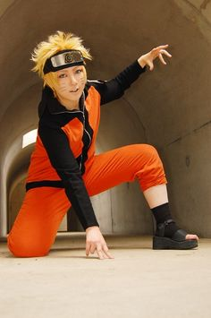 Naruto!! I may be a girl but I can still cosplay as a guy!! I wanna cosplay as naruto soo badly