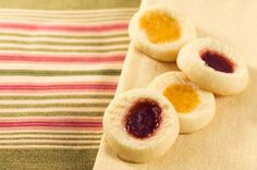 Ok Now I'm Hungry ... .Healthy Cookies - thumbprint cookies comes from the Tassajara Zen Mountain Center, the   legendary Buddhist monastery in California. And I'll say this, those   monks make some mean cookies. Actually, since they are vegan...