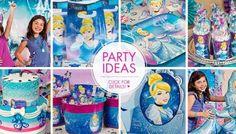 Ideias para festa Cinderela Bolo Barbie, Elsa, Red Bull, Mix, Birthday, Ideas Party, Step By Step, Toddler Girls, Lets Go