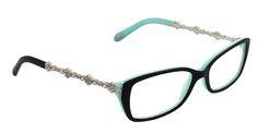 Tiffany Glasses Frames   New Tiffany Eyeglasses TIF 2050B Blue 8055 54mm Auth   eBay