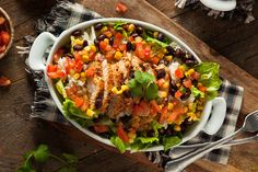 Nutrisystem provides a delicious and simple recipe for Southwest Grilled Chicken Salad.