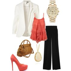 bright office, created by melllapps on Polyvore