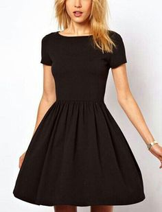 Little pretty black dress. Easy find, easy to make