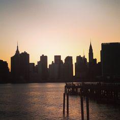 Long Island City sunset #LIC