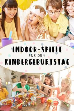 Children's birthday games: 20 great indoor games for children's birthday familie.de - The best games for children's birthday that can also be played indoors. Gentle Parenting, Parenting Teens, Parenting Advice, Rap Art, Indoor Games For Kids, Diy Crafts To Do, Birthday Games, Birthday Parties, Diy For Teens