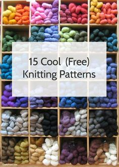 Spotlight: 10 Cozy Fall (Free) Knitting Patterns
