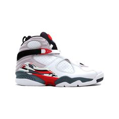 Jordan Shoes Air Jordan 8 Retro White Black True Red [Air Jordan 8 - A  classic returns, what Marvin the Martian and Bugs Bunny premiered in many  commercials ...