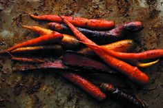 Ginger-Lime Slow-Roasted Carrots