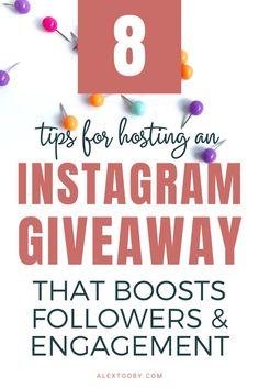 Hosted an Instagram Giveaway but it was a total flop? Chances are you didn't follow these tips! Learn how to do an Instagram giveaway that's a massive success and some practical instagram giveaway ideas in this tutorial! #instagramgiveawayideas #howtodoaninstagramgiveaway #giveawayideas Social Media Tips, Social Media Marketing, Content Marketing, Marketing Ideas, Affiliate Marketing, Instagram Giveaway, Instagram Tips, Make Money Blogging, How To Make Money