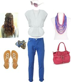 summer color, created by charity-wood-smith on Polyvore