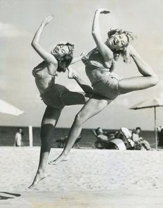 Great Fitness Ideas That Get You Into Shape Beach Blanket Bingo, Yoga Workshop, Polaroid, Modern Dance, Creative Photos, Just Dance, Swimwear Fashion, No Equipment Workout, Pure Joy