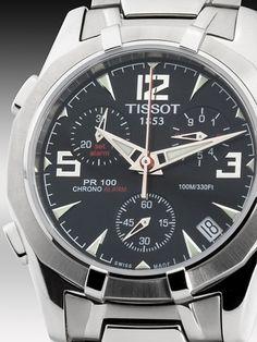 758f3c7cc47 Tissot Mens Watch PR100X Flyback Alarm Chronograph