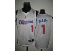 NBA Clippers #1 Chauncey Billups White Revolution 30 Stitched Jersey