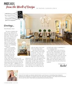 Amanda Carol At Home House And Home Magazine, City Living, Farmhouse Table,  Magazine