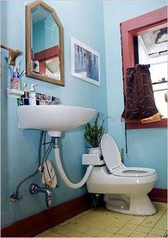 The New York Times > Home &e Garden > Image > House Bathroom, House Design, Small Bathroom, House, Eco House, Home, Home Diy, Bathroom Design, Home Garden Images