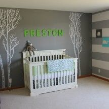 TONS of nursery inspiration on this site