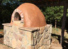 Cob oven complete