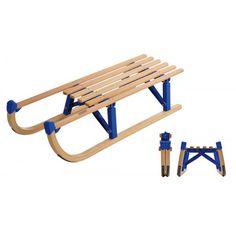 Vehicule pentru copii :: Saniute copii :: Saniute din lemn :: Sanie pliabila DAVOS 100 cm Spartan