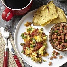 Chorizo Migas - EatingWell.com