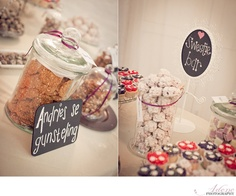 Chalkboards and candy jars