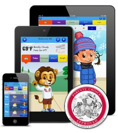 Kid Weather: Includes weather updates, trivia questions, and builds math and science. For elementary school aged children.