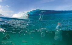 Surfrider Foundation: Près de 90% de tout le matériel flottant dans l'océan est en plastique
