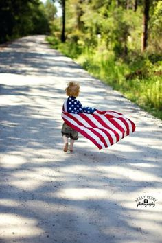 Bringing up your kids right! Teach them to love their country and to defend it!