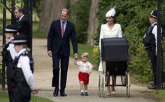 Prinses Charlotte gedoopt - Beau Monde