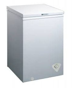midea Single Door Chest Freezer, Cubic Feet, White - Home Appliances