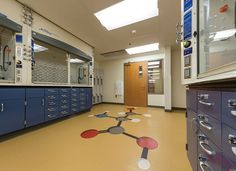 College lab spaces endure plenty of use and abuse. The University of Colorado turned to high-performance materials when upgrading their science labs. | nora Flooring Systems