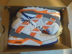 Nike Air SC Trainer Bo Jackson Auburn (302346-106) Retro 2013 Sneakers  size 7 #Nike #AthleticSneakers