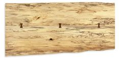 Modern Chilton Coffee Table in Spalted Sugarberry 60w 16h in Wood/Natural Steel