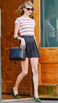 19 Reasons Why Taylor Swift Is a Street Style Pro - April 24, 2014 from #InStyle